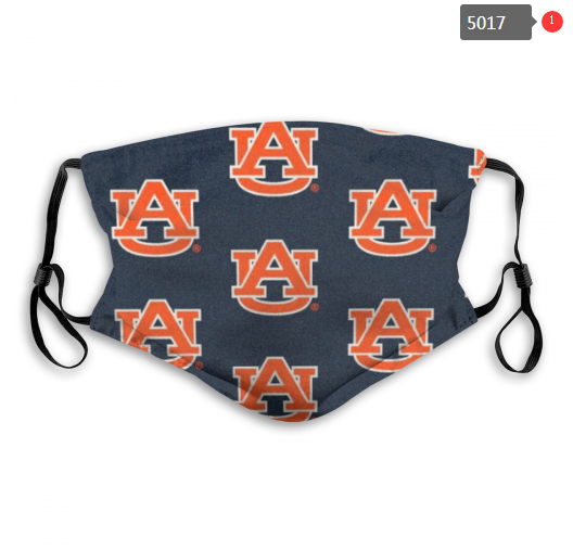 NCAA Auburn Tigers 9 Dust mask with filter