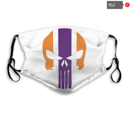 NCAA Clemson Tigers 1 Dust mask with filter