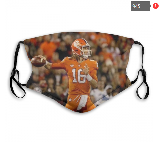 NCAA Clemson Tigers 8 Dust mask with filter