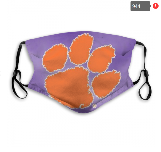 NCAA Clemson Tigers 9 Dust mask with filter