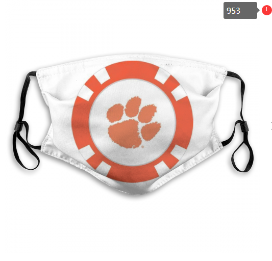 NCAA Clemson Tigers Dust mask with filter