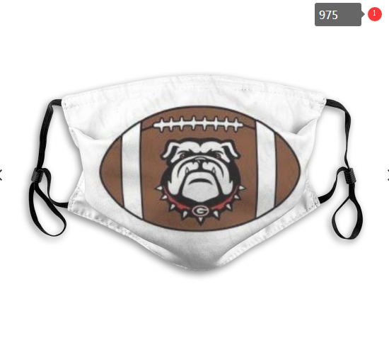 NCAA Georgia Bulldogs 11 Dust mask with filter