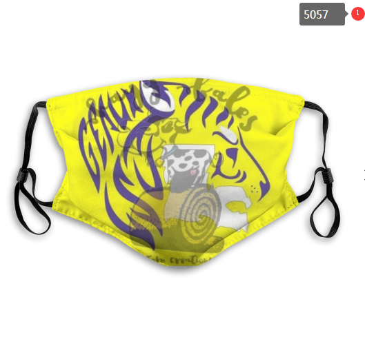 NCAA LSU Tigers 13 Dust mask with filter