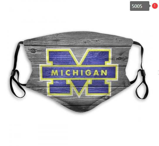 NCAA Michigan Wolverines 10 Dust mask with filter