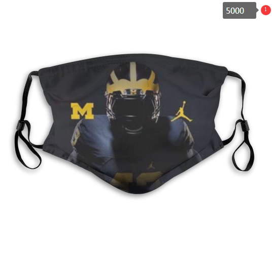 NCAA Michigan Wolverines 15 Dust mask with filter