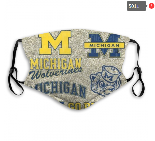 NCAA Michigan Wolverines 4 Dust mask with filter