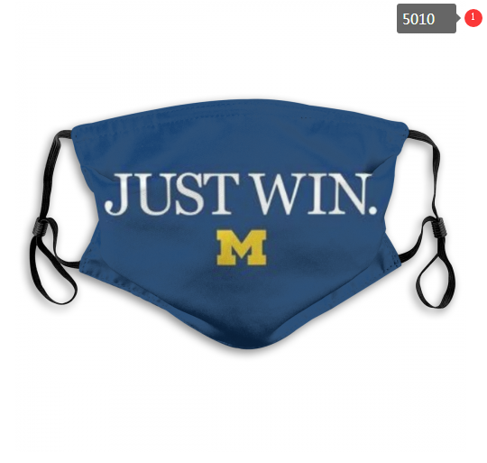 NCAA Michigan Wolverines 5 Dust mask with filter