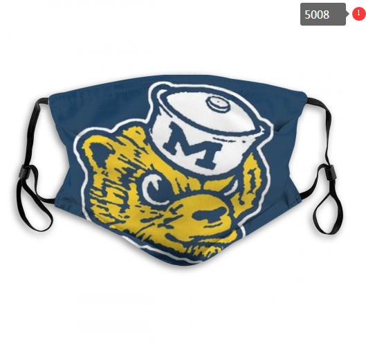NCAA Michigan Wolverines 7 Dust mask with filter