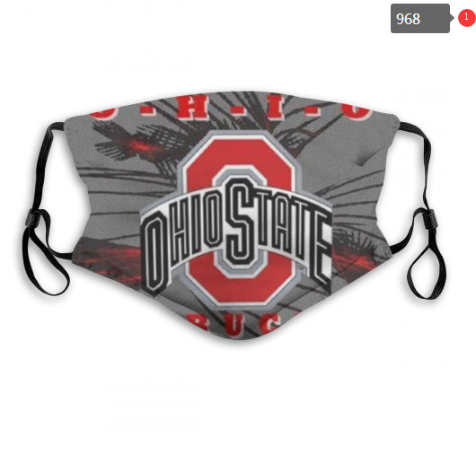 NCAA Ohio State Buckeyes 1 Dust mask with filter