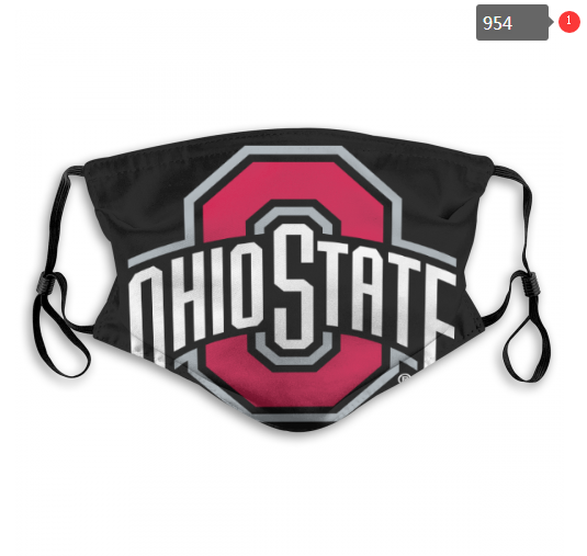 NCAA Ohio State Buckeyes 15 Dust mask with filter