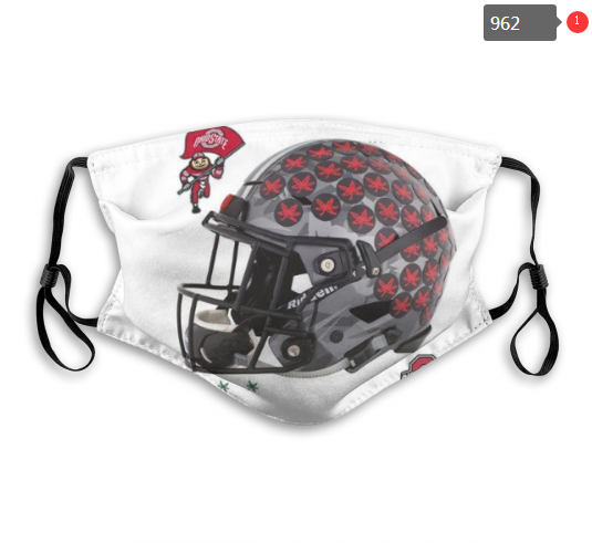 NCAA Ohio State Buckeyes 7 Dust mask with filter