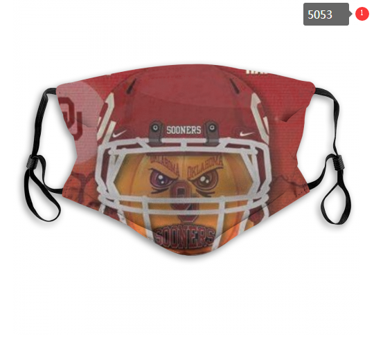 NCAA Oklahoma Sooners 2 Dust mask with filter