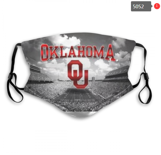 NCAA Oklahoma Sooners 3 Dust mask with filter