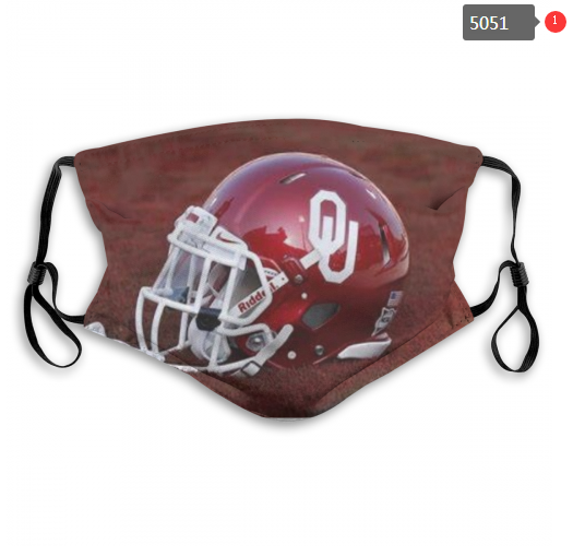 NCAA Oklahoma Sooners 4 Dust mask with filter