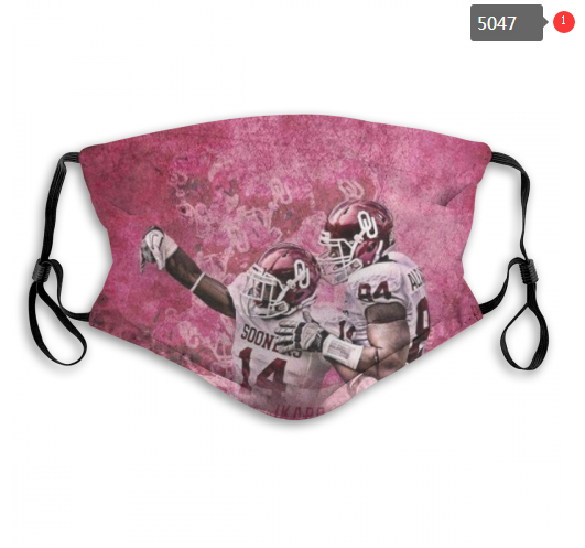 NCAA Oklahoma Sooners 8 Dust mask with filter
