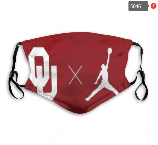 NCAA Oklahoma Sooners 9 Dust mask with filter