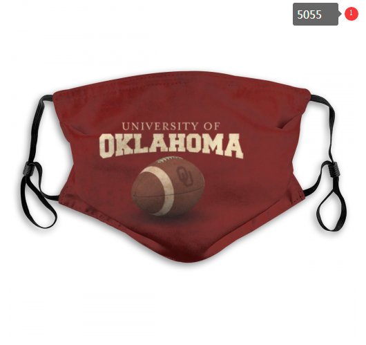 NCAA Oklahoma Sooners Dust mask with filter