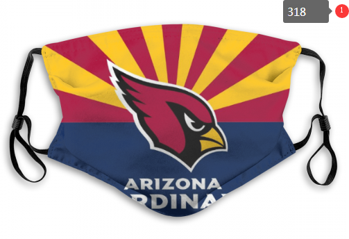 NFL Arizona Cardinals 1 Dust mask with filter