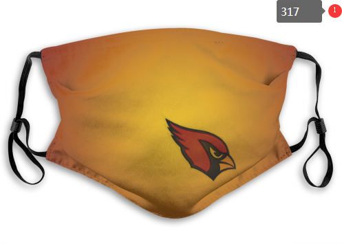 NFL Arizona Cardinals 2 Dust mask with filter