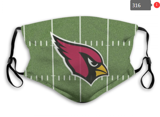 NFL Arizona Cardinals 3 Dust mask with filter