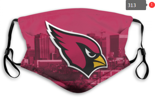 NFL Arizona Cardinals 6 Dust mask with filter