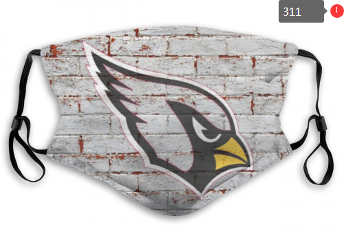 NFL Arizona Cardinals 8 Dust mask with filter