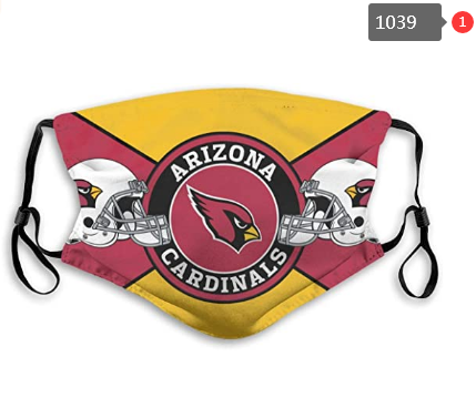 NFL Arizona Cardinals Dust mask with filter