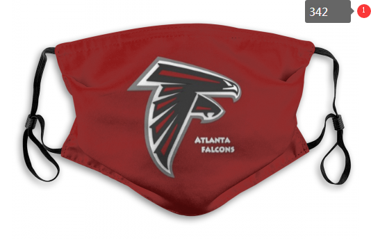 NFL Atlanta Falcons 6 Dust mask with filter