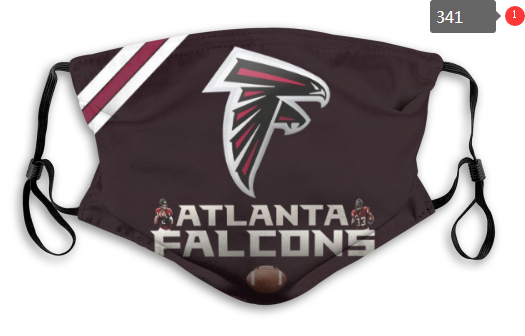NFL Atlanta Falcons 7 Dust mask with filter