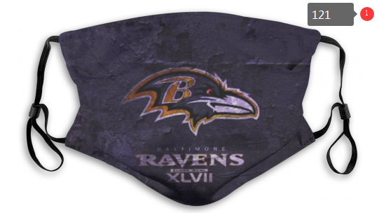 NFL Baltimore Ravens 1 Dust mask with filter