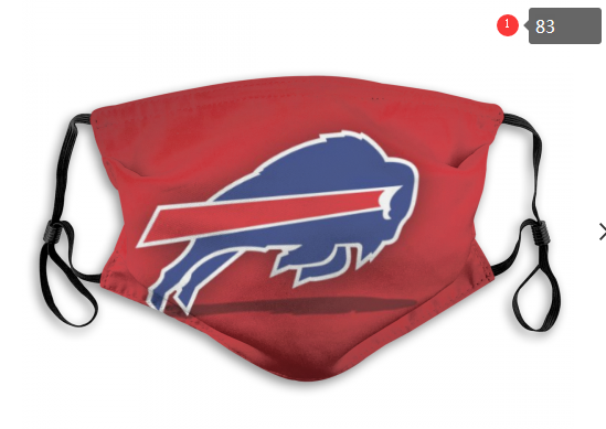 NFL Buffalo Bills 1 Dust mask with filter