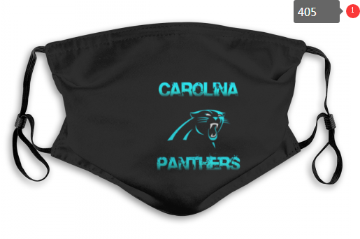 NFL Carolina Panthers 7 Dust mask with filter