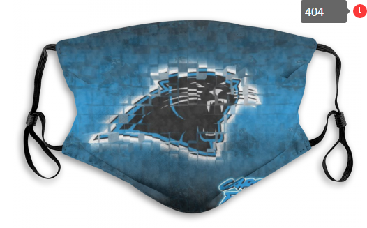 NFL Carolina Panthers 8 Dust mask with filter