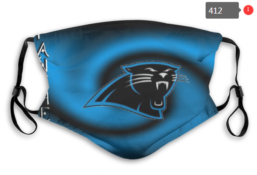 NFL Carolina Panthers Dust mask with filter