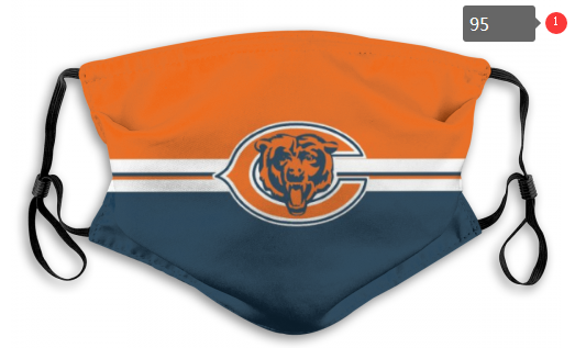 NFL Chicago Bears 1 Dust mask with filter
