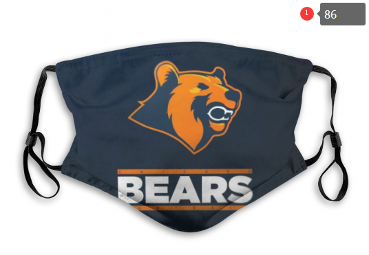 NFL Chicago Bears 10 Dust mask with filter