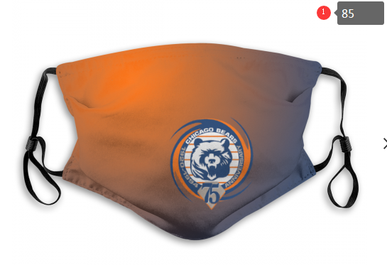 NFL Chicago Bears 11 Dust mask with filter