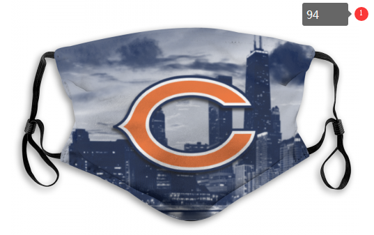 NFL Chicago Bears 2 Dust mask with filter