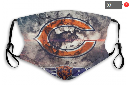 NFL Chicago Bears 3 Dust mask with filter