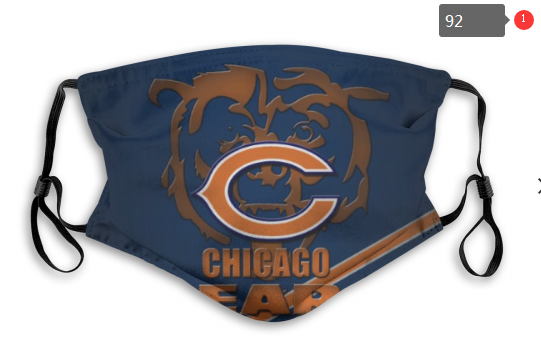 NFL Chicago Bears 4 Dust mask with filter