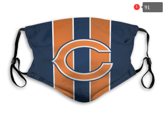 NFL Chicago Bears 5 Dust mask with filter