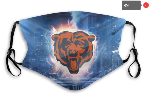NFL Chicago Bears 7 Dust mask with filter