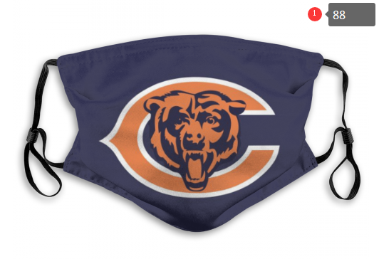 NFL Chicago Bears 8 Dust mask with filter