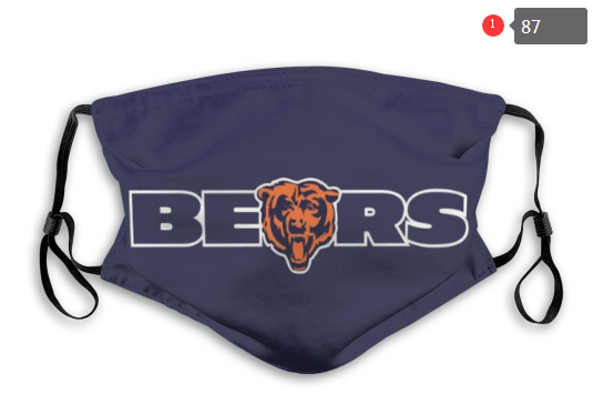NFL Chicago Bears 9 Dust mask with filter