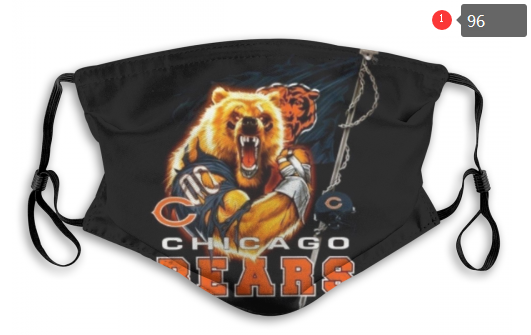 NFL Chicago Bears Dust mask with filter