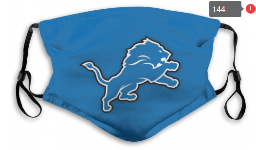 NFL Detroit Lions 1 Dust mask with filter