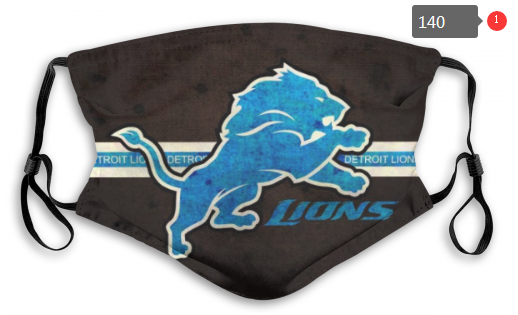 NFL Detroit Lions 5 Dust mask with filter
