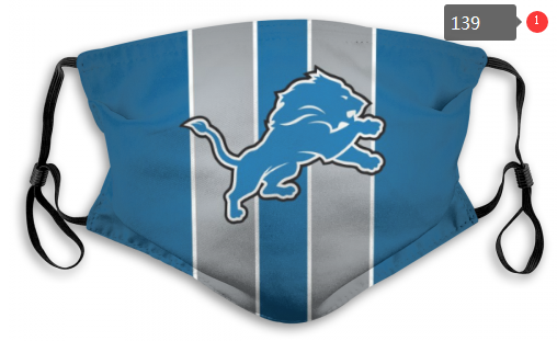 NFL Detroit Lions 6 Dust mask with filter