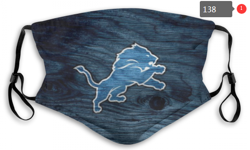 NFL Detroit Lions 7 Dust mask with filter