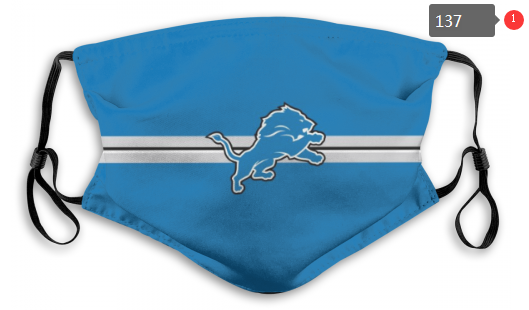 NFL Detroit Lions 8 Dust mask with filter
